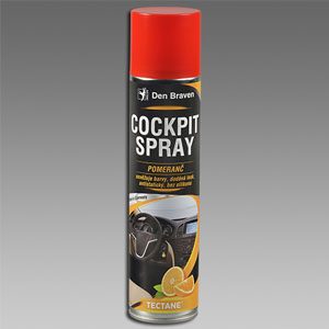 Cockpit spray - pomaranč