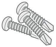 Samozářezné skrutky pre FINPROTECT Plus 35 ks / balenie
